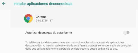 Instalación del Navegador Chromium para Android - PC Resumen