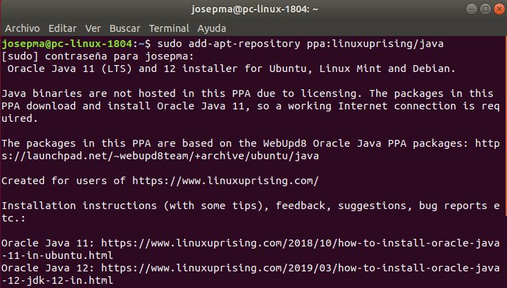 Linux Uprising team PPA