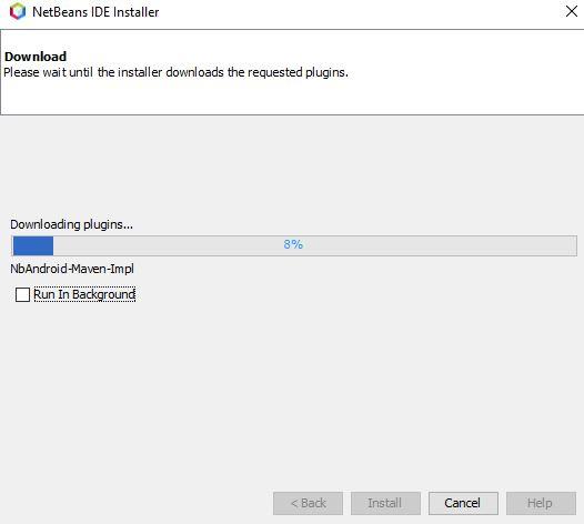 Descarga de los plugins NbAndroid